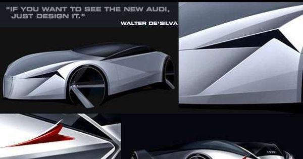 Illuminated Cars Of The Future Audi Kimonos And Cars