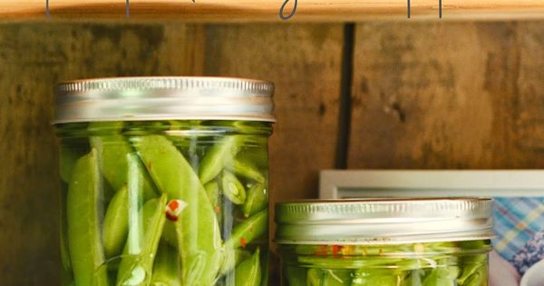 quick pickled sugar snap peas recipe by natalie creates ...