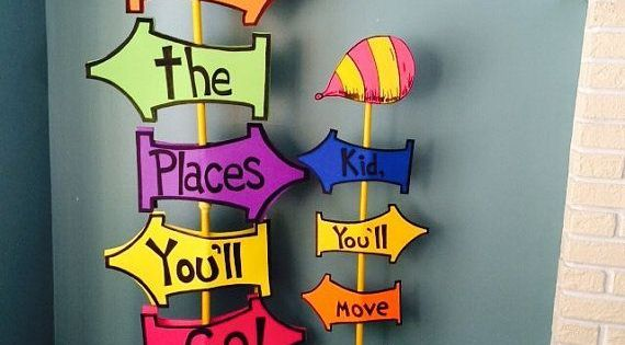 Giant Oh The Places You'll Go Sign by SwitzersSweets on ...