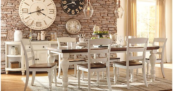 Marsilona Dining Room Table Table And Chairs Dining Sets And Chairs