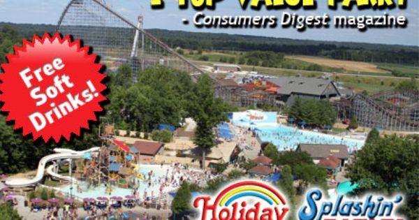 Welcome To Holiday World Theme Park Splashin Safari Water Park Santa Claus Indiana Holiday World Theme Park Holiday World Summer Getaway Indiana Travel