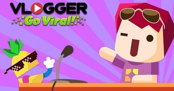 Gameplay Vlogger Go Viral 1 Youtube Jogos Producao De Video