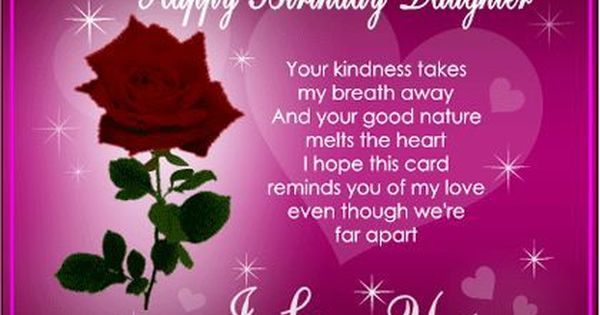 Happy Birthday Wishes for Daughter From Mom and Dad ...