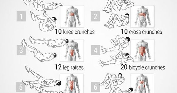 find all kind of workouts just for men in this board
