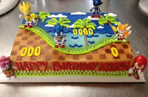 Awesome Sonic Cake Funsubstance Com On Imgfave Cakes