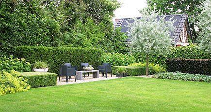 Tuinarchitect tuinontwerp moderne strakke eigentijdse grote - Eigentijdse landscaping ...