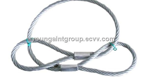 Pressed Wire Rope Sling Hemo Core China Steel Wire Rope Sling Sln Wire Rope Sling Manufactory Sling