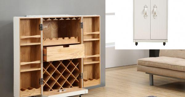 Barschrank Koffer Bar Holz Kolonial Loric Weiss Hausbarschrank Barschrank Hausbar Designs