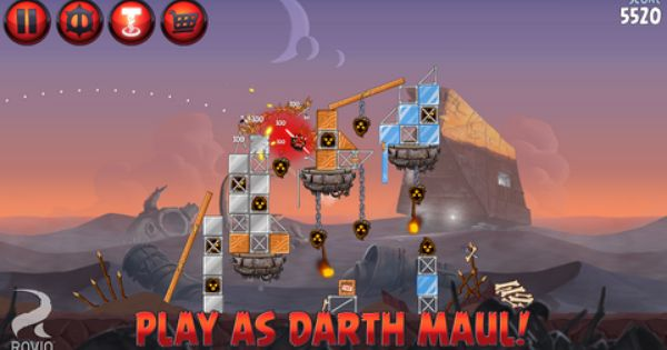 Download Angry Birds Star Wars 2 Apk Star Wars Angry Birds Hit