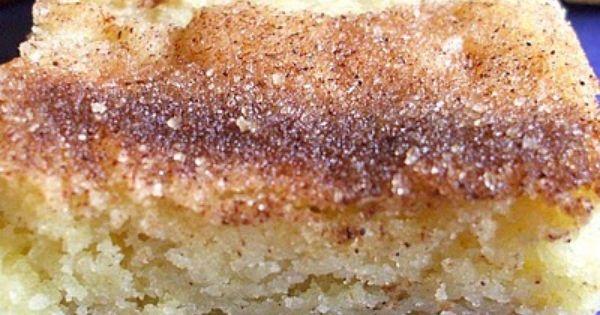 Snickerdoodle Cookie Bars 1 c butter or shortening (shortening = better texture)