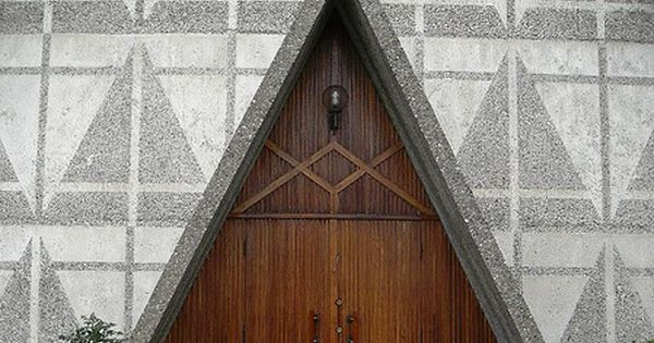 Triangle Door Way Architecture Pinterest Doors And