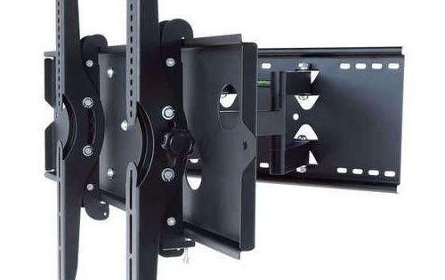 2xhome Articulating Full Motion Swivel Tv Mount Dual Ar Wall Mounted Tv Tv Wall Mount Bracket Tilting Tv Wall Mount