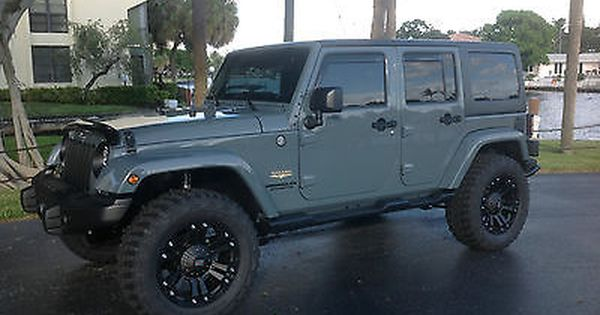 Jeep Wrangler Sahara Unlimited 4 Door Hard Top Anvil Exterior With
