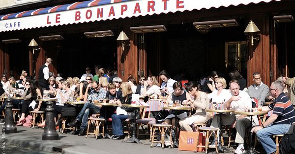 Caf Le Bonaparte By Paris In Four Months Via Flickr 42