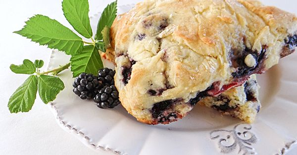 Blackberry scones, Scones and Blackberries on Pinterest