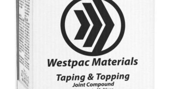 Westpac Materials 3 59 Gal Taping And Topping Pre Mixed Joint Compound Joint Material Tape