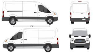 Ford Transit Connect Vehicle Outlines 10 Ford Transit Vehicles