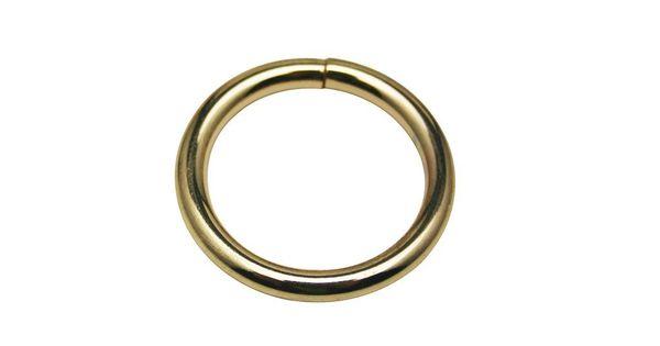 generic golden 1 inside diameter circular ring rounded