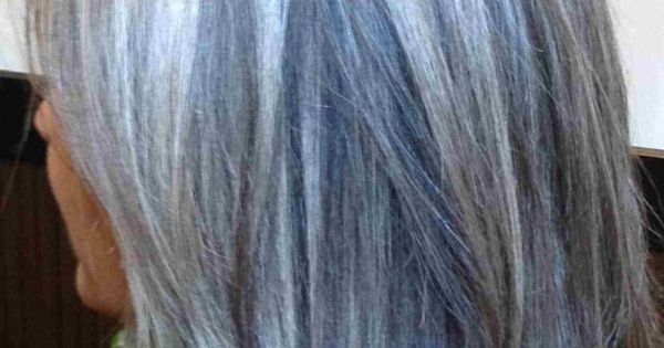 Blonde Highlights For Gray Hair Here S A Good Idea To