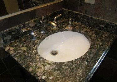 Granite Countertops Removing Hard Water Build Up Hard Water