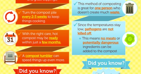 """Which Composting Method is Best for You? Infographic Helps You Decide :"