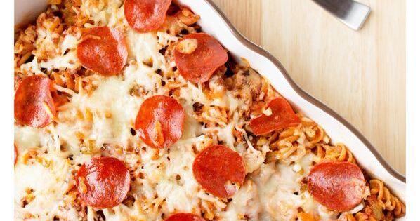 Supreme Pizza Pasta Casserole | Recipe | Supreme Pizza, Pasta ...
