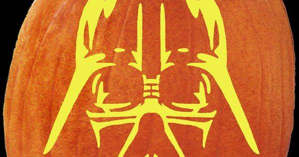 top pumpkin carving patterns | Star Wars Pumpkin Stencils