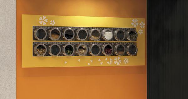 build a unique spice rack for your kitchen construisez un support pices orginal pour. Black Bedroom Furniture Sets. Home Design Ideas