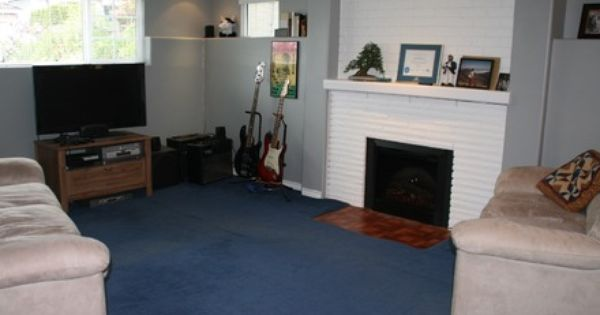 Home Makeover A Bright Airy Blue Themed Living Room Home Living Room Home Decor Rugs In Living Room