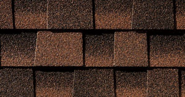 Hickory Gaf Timberline Roof Shingles Swatch General
