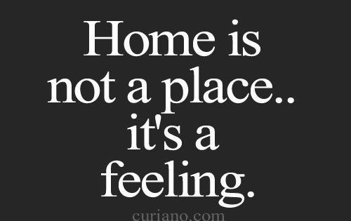 Home is not a place... it's a feeling. ZsaZsa Bellagio – Like