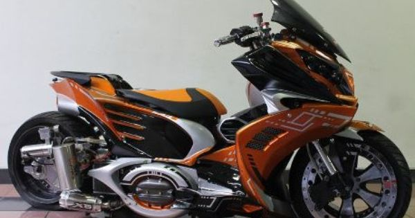 ide modifikasi motor matic vario 125