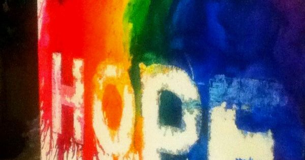 Idea » Melted Crayon Art with Words » Use duct tape for
