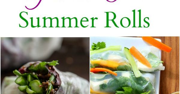 ... Gluten-Free Summer and Spring Rolls | Creative, Kimchi and Gluten free