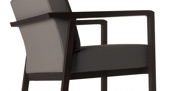 Butaca Lounge Tapizada Modelo POD Para Salas De Espera Y