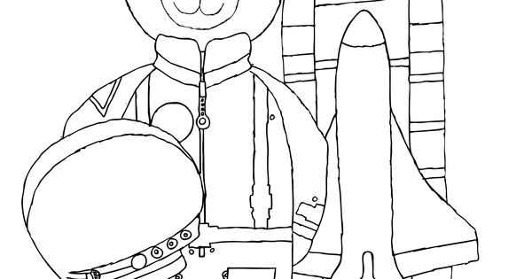neil armstrong coloring sheet | Celebrate an American hero ...