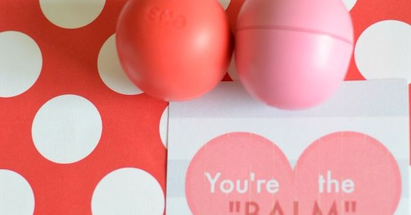 Free Printable Valentine Lip Balm Tags by u-createcrafts.com