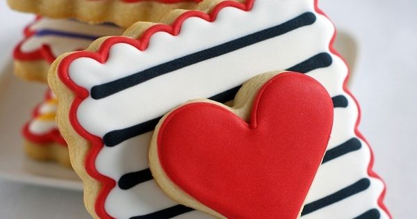 Amazing Valentin'es Day Cookies. Poundworld Valentines ValentinesDay
