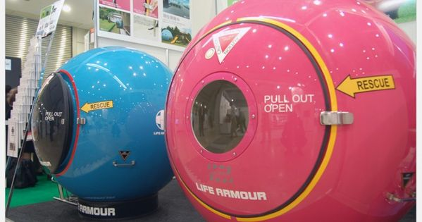 LIFE ARMOR | You Get In This Ball In Case Of Natural