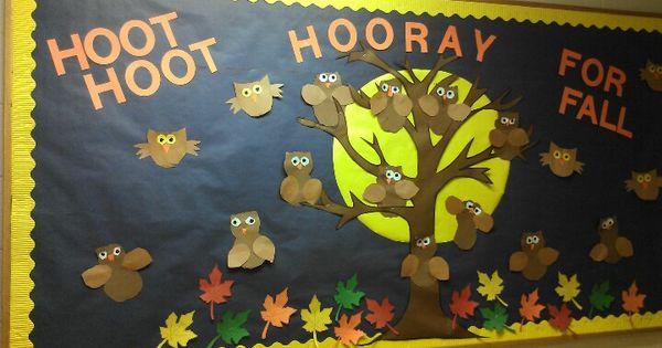 Preschool Classroom Bulletin Board