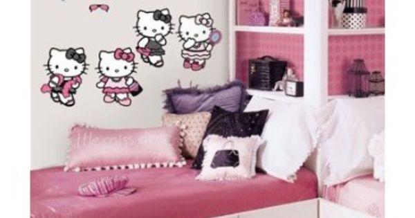 Dormitorios hello kitty bedrooms via - Dormitorios infantiles tematicos ...