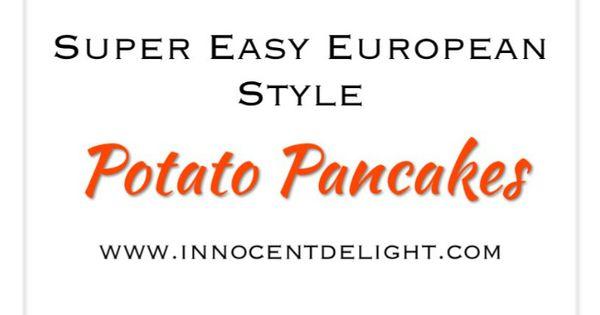 how to make european pancakes