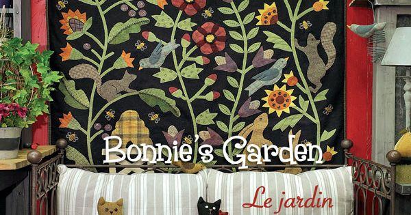Le jardin de bonnie bonnie sullivan quiltmania for Le jardin de woolens