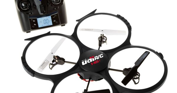 UDI U818A HD+ 2.4GHz 4 CH 6 Axis Gyro RC Quadcopter with