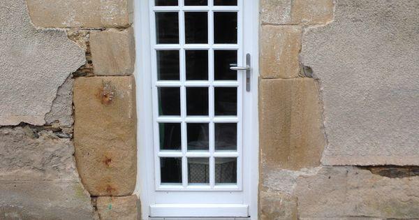 Porte fen tre 1 vantail petits bois coll s portes for Fenetre bois 1 vantail