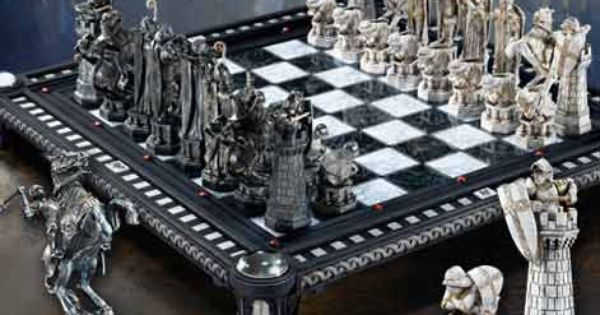 The Final Challenge Chess Set A remarkable recreation of the Final Challenge