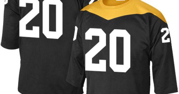 b940c4aa6 ... rocky bleier mens elite black jersey nike nfl pittsburgh steelers home  20 1967 .