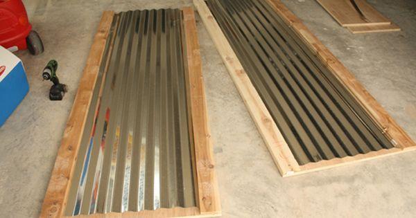 Pin By Elizabeth Campillo On Garage Man Cave Corrugated Tin Interior Barn Doors Corrugated Metal