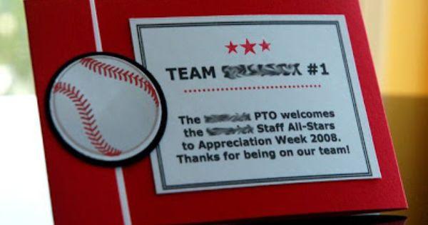 Sports themed Teacher Appreciation Week   Party - Sports ...