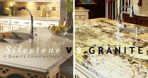 Silestone vs granite vs quartz countertop materials for Silestone vs granite